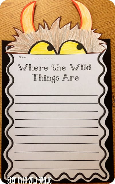 where-the-wild-things-are-writing-activity